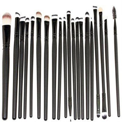 TODO 20pcs Pro Eye Makeup Brush