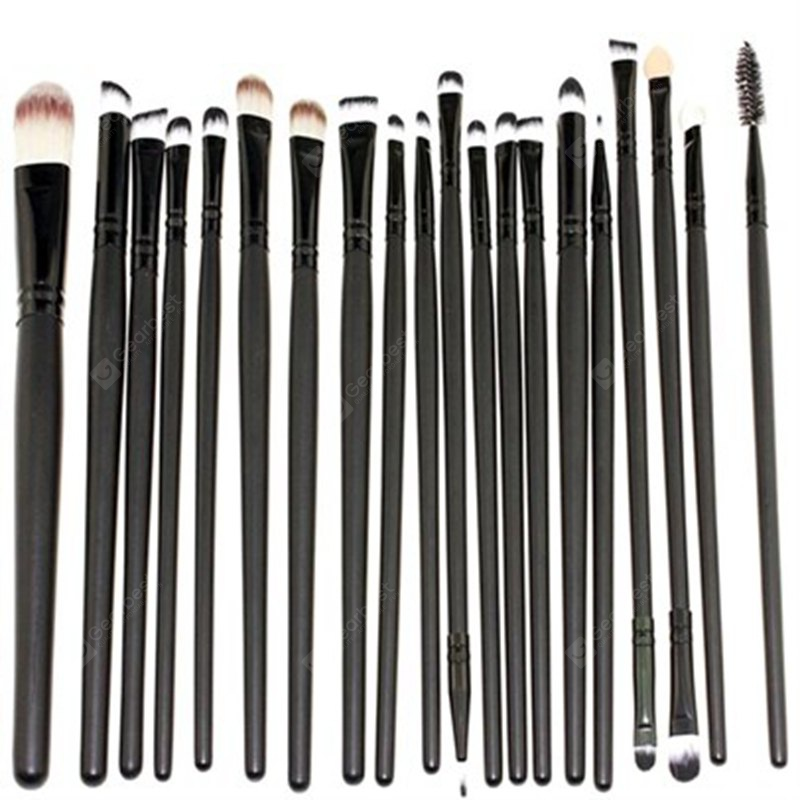 TODO 20pcs Pro Augen Make-up Pinsel