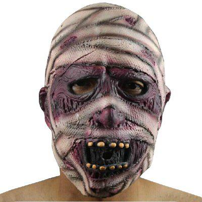 Yeduo Latex Rubber Grimace Monster Mummy Mask for Adults Halloween Party Supplies