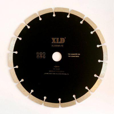 XLD Diamond  Cold-pressed Segmented Saw Blade  Grade A  230 x 2.4 x 10 x 22.23   Dry Use for Cutting Building Materials