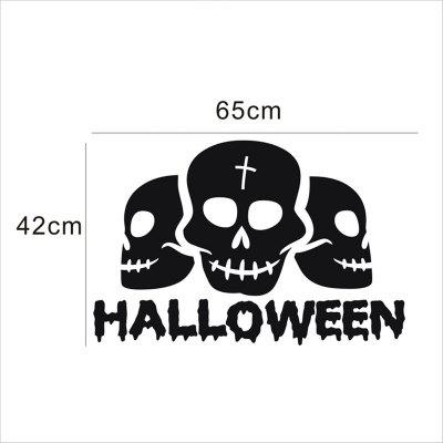 Halloween Decoration Terror Creative Wall Stickers DecorWall Stickers<br>Halloween Decoration Terror Creative Wall Stickers Decor<br><br>Art Style: Plane Wall Stickers<br>Function: Decorative Wall Sticker<br>Material: Vinyl(PVC)<br>Package Contents: 1 x Wall Decor<br>Package size (L x W x H): 60.00 x 5.00 x 5.00 cm / 23.62 x 1.97 x 1.97 inches<br>Package weight: 0.2000 kg<br>Product size (L x W x H): 65.00 x 42.00 x 0.20 cm / 25.59 x 16.54 x 0.08 inches<br>Product weight: 0.1500 kg<br>Quantity: 1<br>Subjects: Cartoon<br>Suitable Space: Bedroom,Game Room,Kids Room,Living Room<br>Type: Plane Wall Sticker
