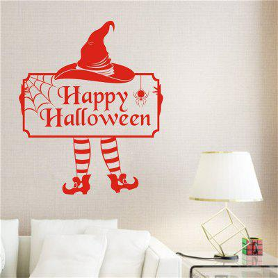 Buy Halloween Cute Clown Cartoon Creative Wall Stickers with Decoration Decor, RED, Home & Garden, Home Decors, Wall Art, Wall Stickers for $5.77 in GearBest store