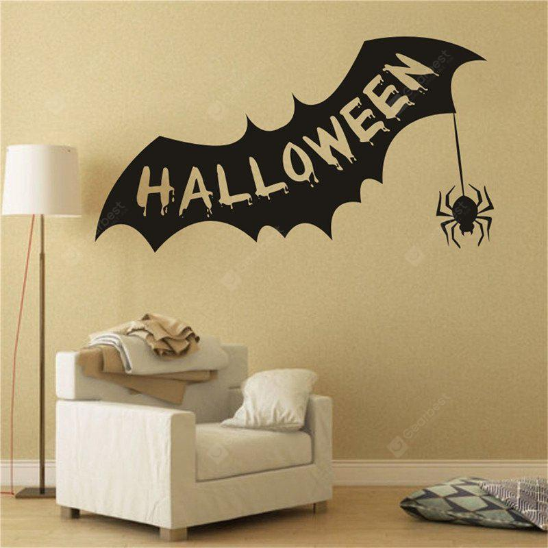 Halloween creative bat Personalized Wall Stickers for Decoration ...