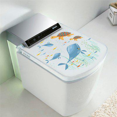 Buy Home Decoration Sea World Whale Turtles Toilet Removable Wall Sticker for Decor, COLORMIX, Home & Garden, Home Decors, Wall Art, Wall Stickers for $3.52 in GearBest store