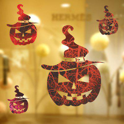 Halloween Home Decoration Scary Haunted House Pumpkins Wall Sticker for DecorWall Stickers<br>Halloween Home Decoration Scary Haunted House Pumpkins Wall Sticker for Decor<br><br>Art Style: Toilet Stickers<br>Function: Decorative Wall Sticker<br>Material: Vinyl(PVC)<br>Package Contents: 1 X Wall Decor<br>Package size (L x W x H): 60.00 x 5.00 x 5.00 cm / 23.62 x 1.97 x 1.97 inches<br>Package weight: 0.7700 kg<br>Product size (L x W x H): 66.00 x 60.00 x 0.01 cm / 25.98 x 23.62 x 0 inches<br>Product weight: 0.7500 kg<br>Quantity: 1<br>Subjects: Cartoon<br>Suitable Space: Living Room,Bedroom,Kids Room,Game Room<br>Type: Plane Wall Sticker