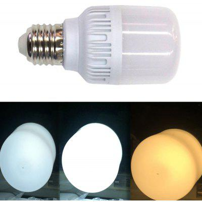 New E27 2835SMD 10LED 5W 200LM Three-Color Dimming LED Bulb