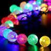 KWB LED Solar String Lights 7M 50 Bolas LED Crystal Ball Waterproof Outdoor String Lights - RGB COR