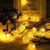 KWB LED Solar String Lights 7M 50 Bolas LED Crystal Ball Waterproof Outdoor String Lights - BRANCO MORNO