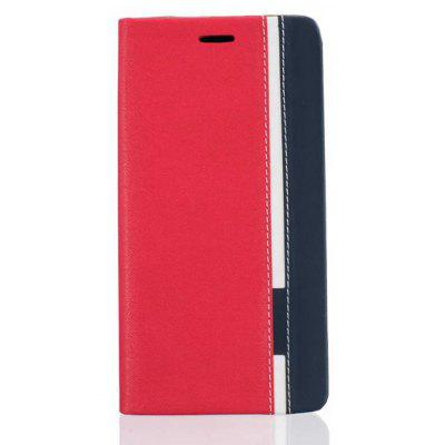 Buy RED British Style Stripe Design Flip PU Leather Case for Xiaomi Mi Max 2 for $5.95 in GearBest store