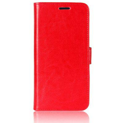Buy RED Durable Crazy Horse Pattern Back Buckle Flip PU Leather Wallet Case for Samsung Galaxy S8 Active for $4.80 in GearBest store