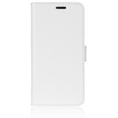 Buy WHITE Durable Crazy Horse Pattern Back Buckle Flip PU Leather Wallet Case for Samsung Galaxy S8 Active for $4.80 in GearBest store