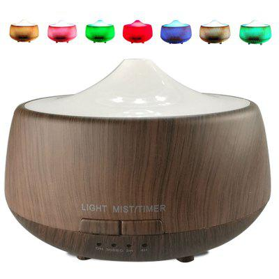 Negative Ions Ultrasonic Air Wickflash Spa Mist Micro Bubble Diffuser with 7 Color LED Light