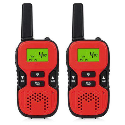 One Pair Mini Walkie Talkie Kids Children 0.5W Portable Ham Two Way Radio