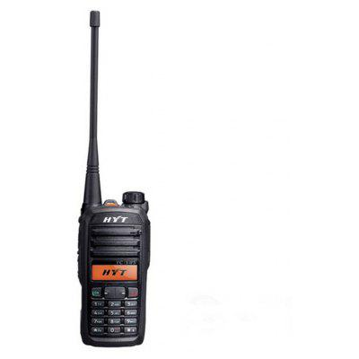 Buy BLACK Portable Two Way Radio Walkie Talkie HYT Hytera 7.4V 1650MAH 256CH 4W for $222.35 in GearBest store