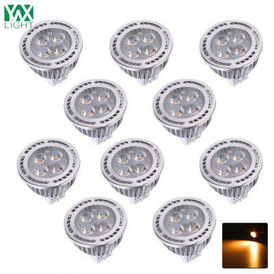 Lampada decorativa AC / DC 12V di riflettore di 10PCS YWXLight MR16 3030SMD