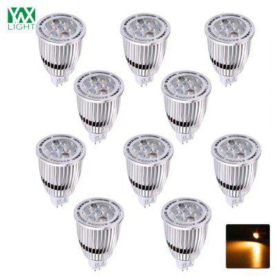 10PCS YWXLight MR16 3030SMD 7-LED incassato illuminazione LED Spotlight AC / DC 12V