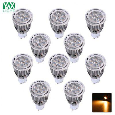 10PCS YWXLight GU10 3030SMD 7-LED incassato Spotlight LED Spot 85 - 265V