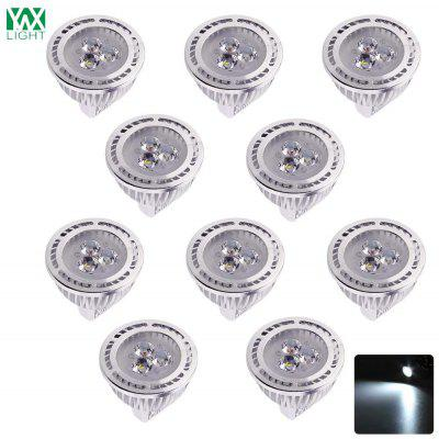 Spotlight delle lampadine 10PCS YWXLight MR16 LED con 300 Lumen AC / DC 12V