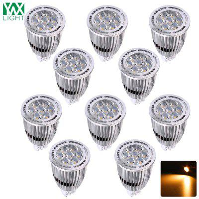 YWXLight 10PCS MR16 3030SMD 7W illuminazione incassata LED Spotlight AC / DC 12V