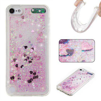 General Pure Color Tpu Quicksand Phone Case for Ipod Touch5/6
