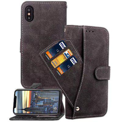 PU Leather Cover Case for iPhone X case