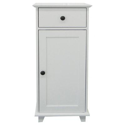 Happyhome Badschrank Klein Weiß 40X29,5X89 Cm Support Local Delivery After-sales Service