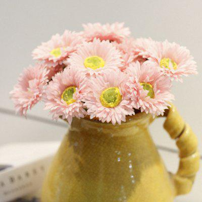 Buy LIGHT PINK XM1 10 Branch Silk African Daisy Home Decoration Artificial Flower for $9.48 in GearBest store