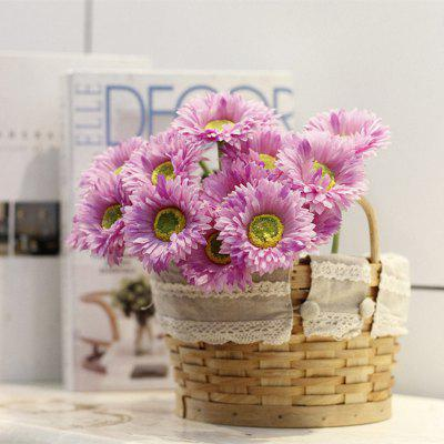 Buy LIGHT PURPLE XM1 10 Branch Silk African Daisy Home Decoration Artificial Flower for $9.48 in GearBest store