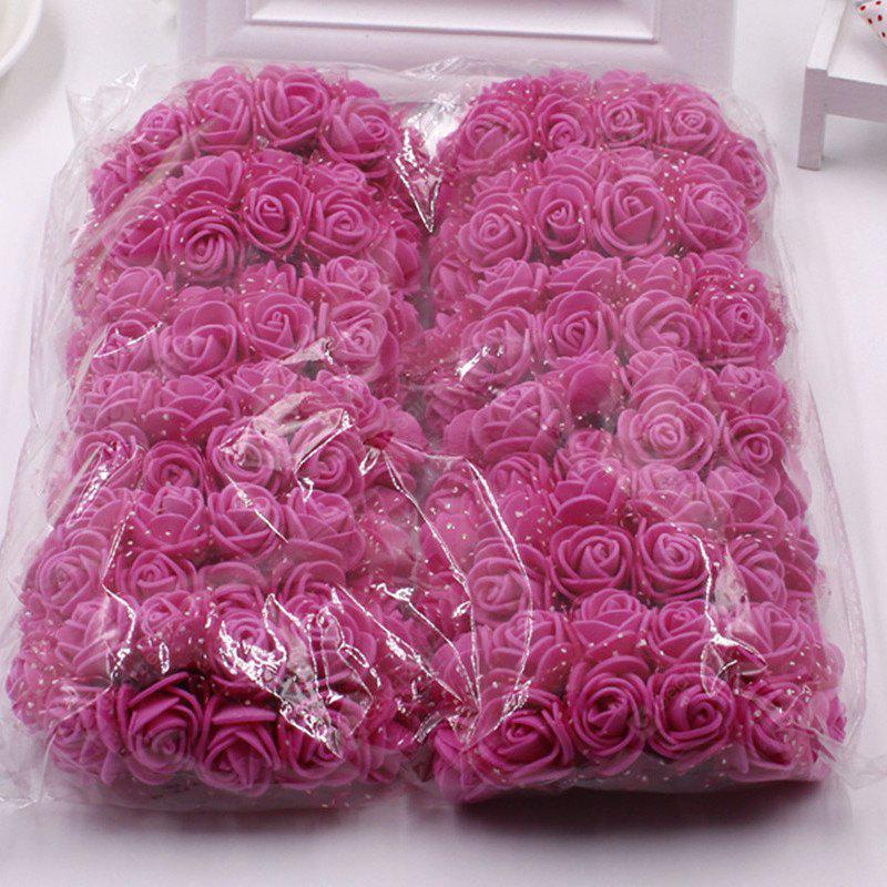 Buy XM1 14Styrofoam Rose DIY Accessories Artificial Flowers ROSE RED
