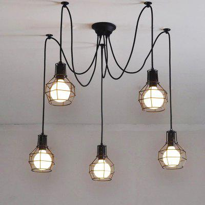 Cxylight (Cxylight) Minimalist Creative Personality American Style Country Retro Bedroom Restaurant Pendant Lights Dd-019