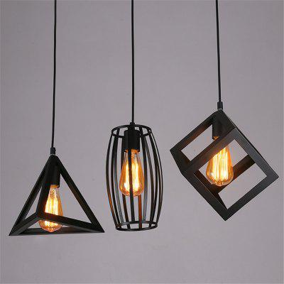 Buy BLACK Cxylight, Cxylight Minimalist Creative Personality American Style Country Retro Bedroom Living Room Restaurant Pendant Lights Dd-033 for $63.37 in GearBest store
