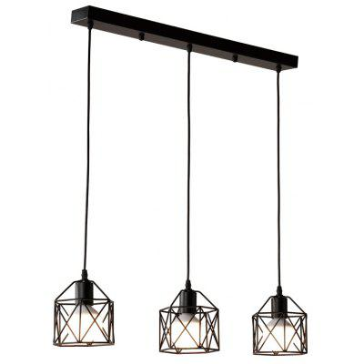 Buy BLACK Cxylight, Cxylight Minimalist Creative Personality American Style Country Retro Bedroom Living Room Restaurant Pendant Lights Dd-034 for $62.07 in GearBest store