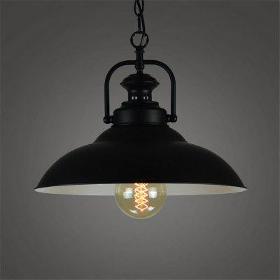 Buy BLACK Cxylight, Cxylight Minimalist Creative Personality American Style Country Retro Bedroom Living Room Restaurant Pendant Lights Dd-038 for $70.62 in GearBest store