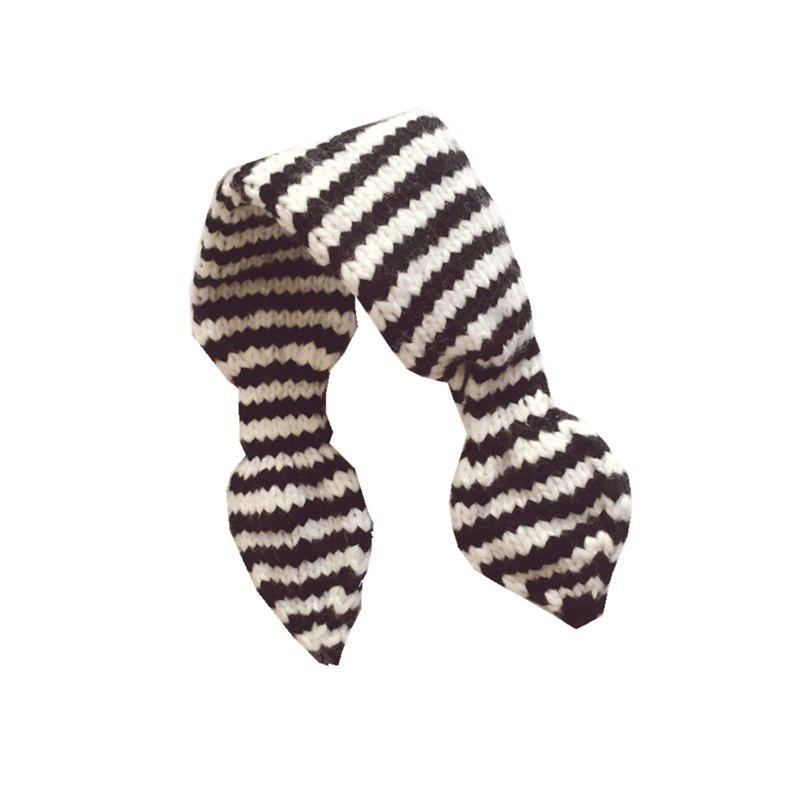 Baby Scarf Unisex Striped Color Block Scarf