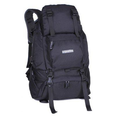 Buy BLACK Fengtu FT0024 50L Large Hiking Backpacks Waterproof Nylon Outdoor Mountain Bags Camping Climbing Traveling Sports Bags for $31.90 in GearBest store