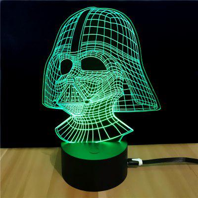 M.Sparkling Td054 Star Wars Darth Vader Shape 3D LampNovelty lighting<br>M.Sparkling Td054 Star Wars Darth Vader Shape 3D Lamp<br><br>Available Light Color: RGB<br>Material: ABS<br>Model: TD054<br>Package Contents: 1 x Acrylic Board, 1 x Abs Pedestal, 1 x Usb Cable, 1 x English Manual<br>Package size (L x W x H): 24.00 x 17.00 x 5.00 cm / 9.45 x 6.69 x 1.97 inches<br>Package weight: 0.2800 kg<br>Product size (L x W x H): 15.00 x 8.70 x 21.00 cm / 5.91 x 3.43 x 8.27 inches<br>Product weight: 0.1300 kg<br>Suitable for: Party, Night Light, Holiday Decoration, Home Decoration<br>Wattage: 0.5W