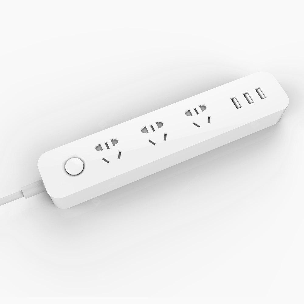 TOCHIC 3 Usb Charging Hub Mini Power Strip with 3 Sockets Standard Plug