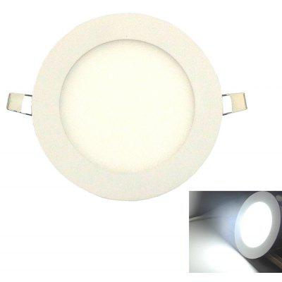Ultra-Thin 6W 530LM 30-2835SMD Led Panel Light / Embedded Ceiling Light