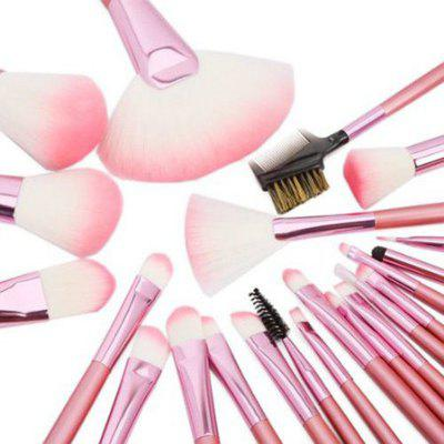 Todo 22PCS Pink Professional Cosmetic Soft Brush Set for Makeup