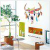 Colorful Cow Wall Sticker for Childrens Room Living Room Diy Decal - MIXED COLOR