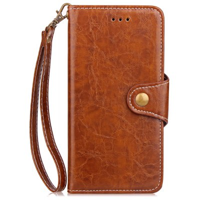 Wkae Retro Business Leather Case Cover with Card Slots And Kickstand for Samsung Galaxy Note 8