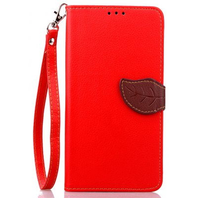 Love Leaf Card Lanyard Pu Leather para Google Nexus 6P