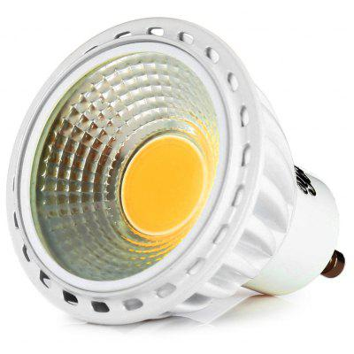 Youoklight 1PC Gu10 6W 220 - 240V Dimmable Warm White / Cold White Light Cob Led Spotlight
