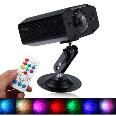 Buy Youoklight 1PCS 12W Rgbw Light Color Changing Mini Led Water Wave Ripple Effect Lamp with Controller for Dj Disco Ktv Club Party Entertainment Ac100 240V, RGBW, EU, LED Lights & Flashlights, Stage Lighting for $22.06 in GearBest store