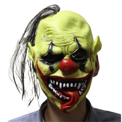 Buy Yeduo Halloween Scary Mask with Wig Hair Green Face Clown Latex Lightweight for Halloween Masquerade Costume Party Bar, MULTICOLOR, Home & Garden, Party Supplies, Halloween Supplies for $7.39 in GearBest store