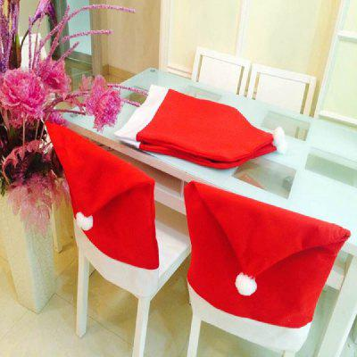 28%OFF Yeduo Hort Santa Claus Hat Chair Covers Christmas Dinner Table Party