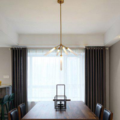 ZUOGE Modern Fork Type 5 Creative Head Chandelier