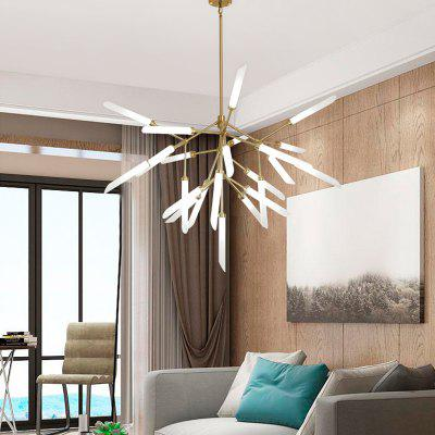 ZUOGE Modern Fork Type 25 Creative Head Chandelier