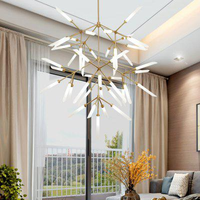 ZGPAX Modern Fork Type 45 Creative Head Chandelier