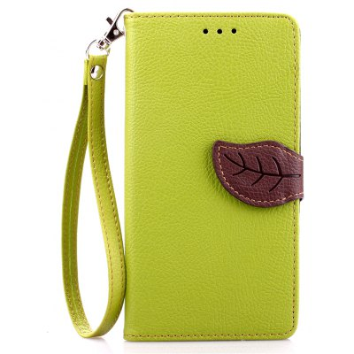 Love Leaf Card Lanyard Pu Leather para Oneplus One